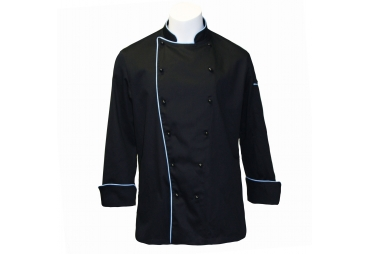 Stylish Black Chef Coat