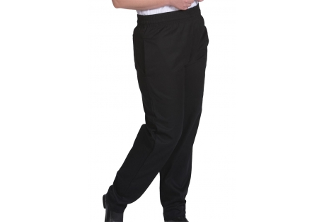 Black Chef Trouser