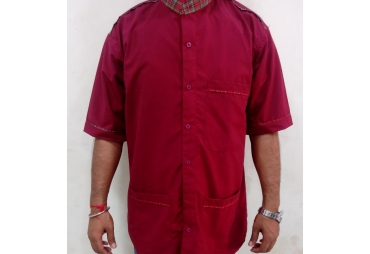 Maroon Utility Uniform 003