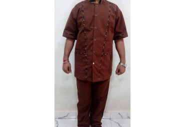 Brown Utility Uniform 007