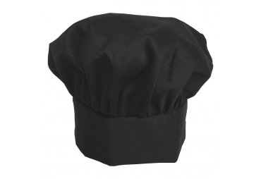 Black Chef hat 003