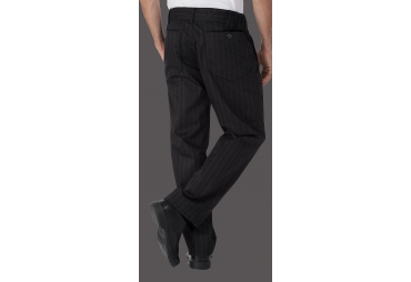 Stripped Chef Trouser 005