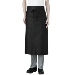 3/4 Length Black Waist Apron 001