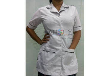 White Nurse Uniform  001