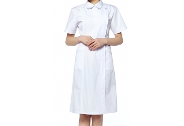 White 3/4 Nurse Uniform 006