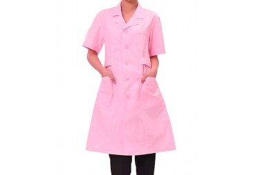 Pink 3/4 Nurse Uniform 005