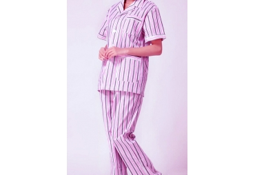 Multi Stripped Patient Uniform 005
