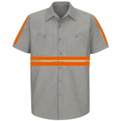 Industrial Long Sleeves Worker Shirt 003