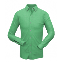 Plain Mint Green Formal Shirt 003