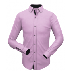 Purple with Black Matching Shirt 004
