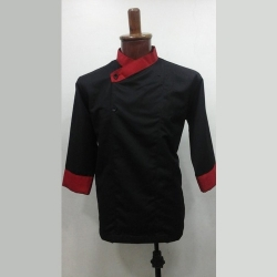 Black Chef Coat 013