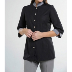 Stand Collar Housekeeping Uniform 004